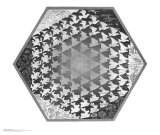Verbum Reproduction d'art par M. C. Escher