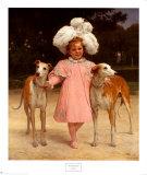 Alice Antoinette Reproduction d'art par Jan Van Beers