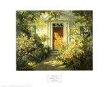 Entrée de porte de chez grand-mère Reproduction d'art par Abbott Fuller Graves