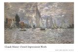 Les Barques  Regates a Argenteuil