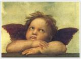 Sistine Madonna Detail