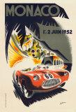 Monaco Grand Prix, 1952 Reproduction d'art
