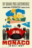 Monaco Grand Prix, 1957 Reproduction d'art