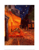 Terrasse de Café  la Nuit