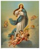 Madonna mit Engeln