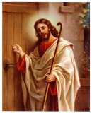 Anklopfender Christus