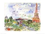 La Tour Eiffel  c1935