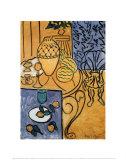 Intérieur en jaune et bleu, 1946 Reproduction d'art par Henri Matisse
