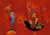 Pour et contre, vers 1929 Reproduction d'art par Wassily Kandinsky