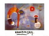 Rond et pointu (1939) Reproduction d'art par Wassily Kandinsky
