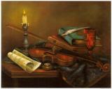 Stilleben mit Geige