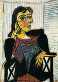 Portrait of Dora Maar  c1937