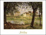 Village on the Banks of the Seine