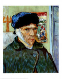 Self-Portrait with Bandaged Ear  c1889