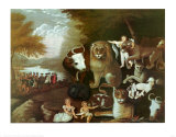 The Peaceable Kingdom  1834