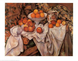 Still Life with Apples and Oranges  c1895-1900