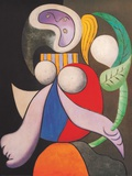 Femme a La Fleur  c1932