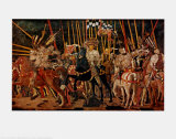 The Battle of San Romano  Right Panel  c1454-57