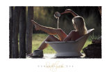 Cowgirl in Tub