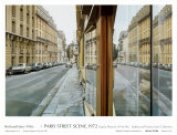 Paris Street Scene photorealistic artwork by Richard Estes