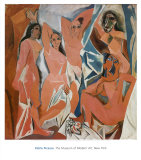 Les Demoiselles d&#39;Avignon  c1907