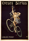 Cycles Sirius Reproduction d'art par Henri Gray