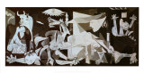 Guernica, vers 1937 Reproduction d'art par Pablo Picasso