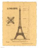 Le Tour Eiffel  Paris  France