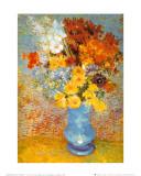 Vase de fleurs, 1887 Reproduction d'art par Vincent Van Gogh