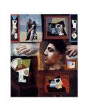 Etudes Reproduction d'art par Pablo Picasso