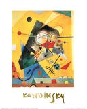 Harmonie tranquille Reproduction d'art par Wassily Kandinsky