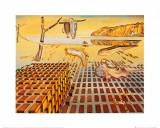 La désintégration de la persistance de la mémoire The Disintegration of the Persistence of Memory, vers 1954 Reproduction d'art par Salvador Dalí