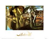 La métamorphose de Narcisse, vers 1937 Reproduction d'art par Salvador Dalí