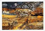 Paysage à Saint-Rémy, 1898 Reproduction d'art par Vincent Van Gogh