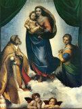 Sistine Madonna  c1513-1514