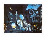 Idylle Atomique Reproduction d'art par Salvador Dalí