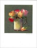 Vase with Rosebuds