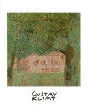 Ferme en Autriche Reproduction d'art par Gustav Klimt
