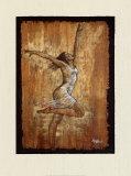 La danse de la joie I Reproduction d'art par Monica Stewart