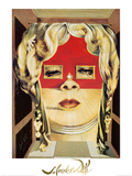 Face of Mae West, c.1935 Reproduction d'art par Salvador Dalí