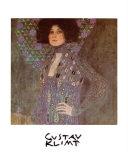 Emilie Floge 1902 Reproduction d'art par Gustav Klimt