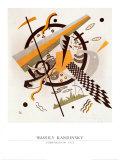 Komposition mit Schachbrettstreifen  1922