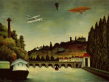 Landscape and Zeppelin