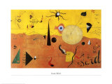 Katalanische Landschaft Reproduction d'art par Joan Miró