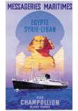 Messageries Maritime  Egypte-Syrie-Liban