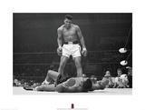 Muhammad Ali v. Sonny Liston Reproduction d'art par Unknown