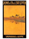Crepuscule En Egypte