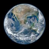 Earth Taken From Suomi NPP, NASA's Earth-observing Satellite Papier Photo par NASA