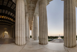 Panorama of the Lincoln Memorial  Showing the Washington Monument