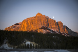 Sunrise in the Ghost River Valley  Rocky Mountains  Canada